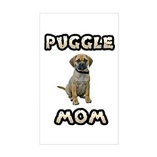 Puggle Mom Decal