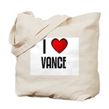 I LOVE VANCE Tote Bag