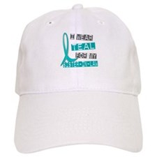 I Wear Teal For My Sister-In-Law 37 Baseball Cap