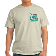 I Wear Teal For My Daughter 37 T-Shirt