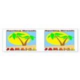 Spring Break Jamaica Bumper Bumper Sticker