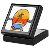 Spring Break Bahamas Keepsake Box