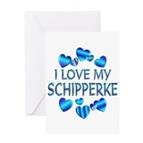 Schipperke Greeting Card