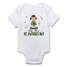 My first St. Patrick's Day Baby Infant Bodysuit