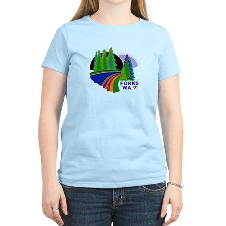 Forks Twilight Women's Light T-Shirt