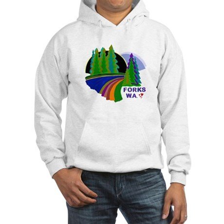 Forks Twilight Hooded Sweatshirt