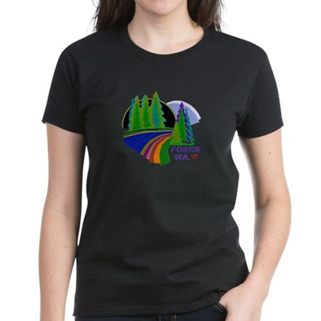 Forks Twilight Women's Dark T-Shirt