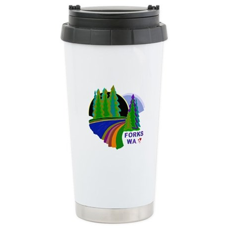 Forks Twilight Ceramic Travel Mug