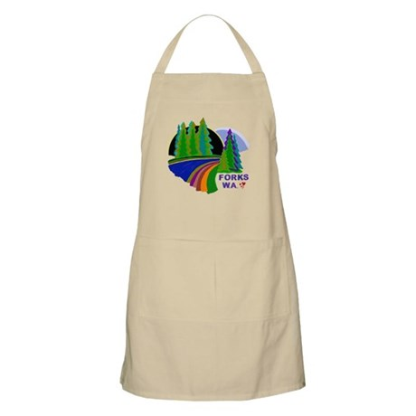 Forks Twilight BBQ Apron