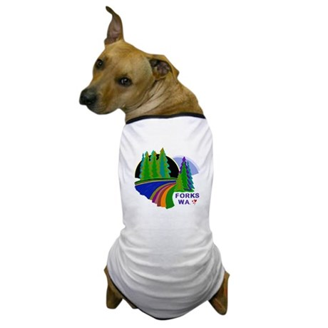 Forks Twilight Dog T-Shirt