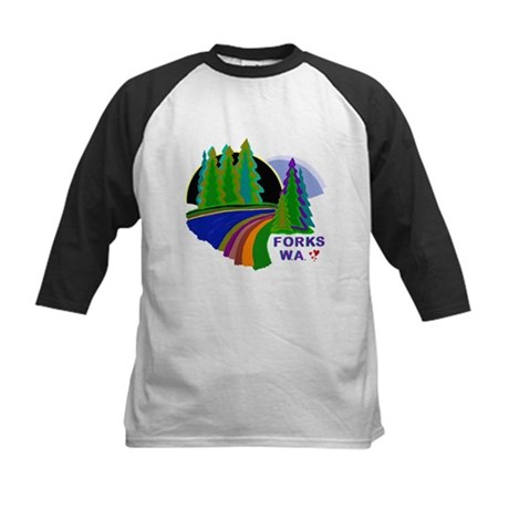Forks Twilight Kids Baseball Jersey