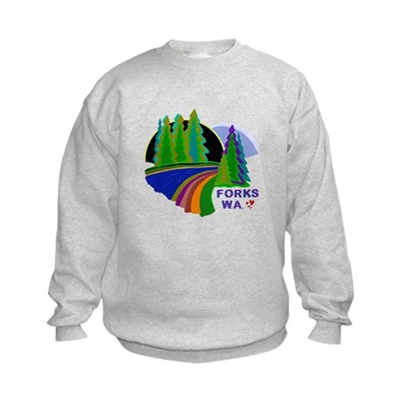 Forks Twilight Kids Sweatshirt