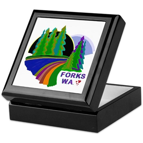Forks Twilight Keepsake Box