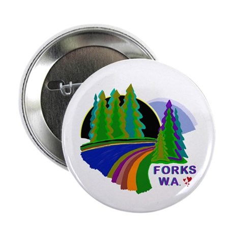 "Forks Twilight 2.25"" Button"