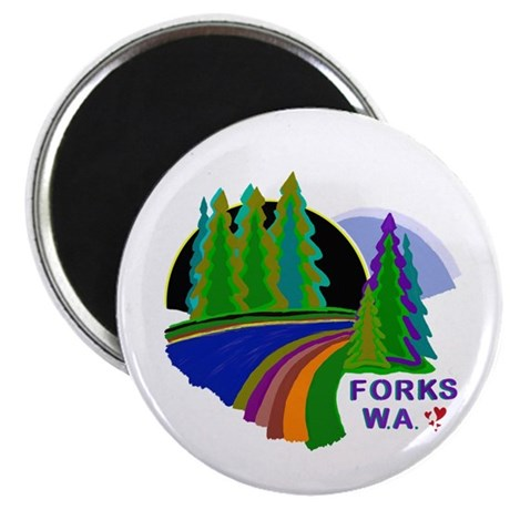 "Forks Twilight 2.25"" Magnet (10 pack)"