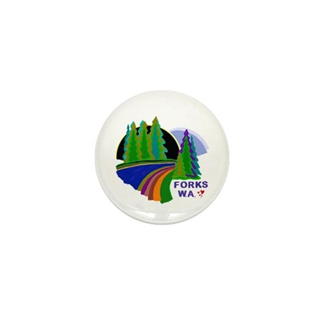 Forks Twilight Mini Button (10 pack)