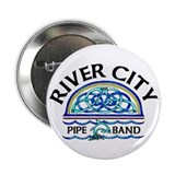 "River City Pipe Band Logo 2.25"" Button (10 pack)"