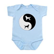 Yin Yang Flatcoat Infant Bodysuit