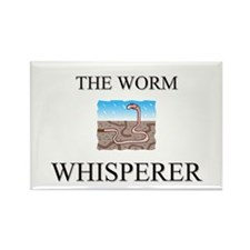 The Worm Whisperer Rectangle Magnet