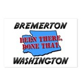 bremerton washington - been there, done that Postc