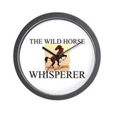 The Wild Horse Whisperer Wall Clock