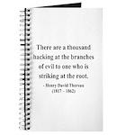 Henry David Thoreau 34 Journal