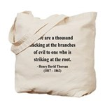 Henry David Thoreau 34 Tote Bag