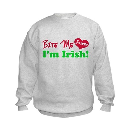 Bite Me Jasper Kids Sweatshirt