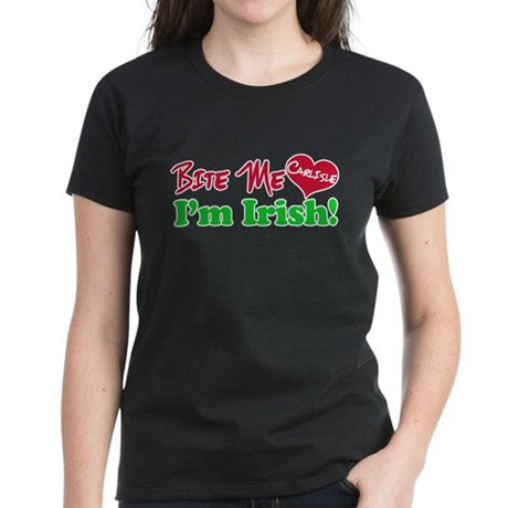 Bite Me Carlisle Women's Dark T-Shirt