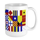 All Naval Flag Code  Tasse