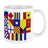 All Naval Flag Code Small Mug