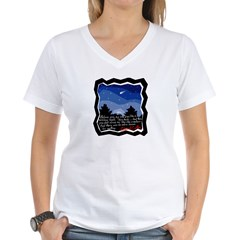 Twilight Meteor Women's V-Neck T-Shirt