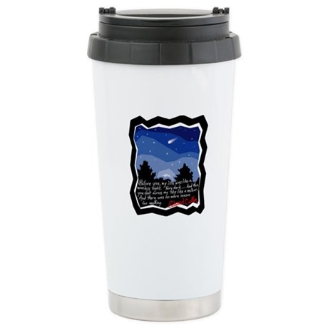 Twilight Meteor Ceramic Travel Mug
