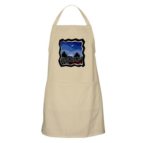 Twilight Meteor BBQ Apron