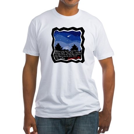 Twilight Meteor Fitted T-Shirt