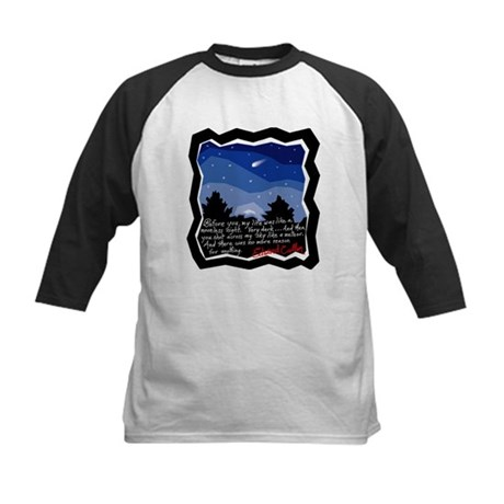 Twilight Meteor Kids Baseball Jersey
