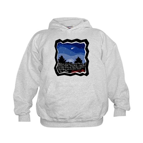 Twilight Meteor Kids Hoodie