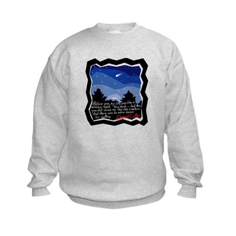 Twilight Meteor Kids Sweatshirt