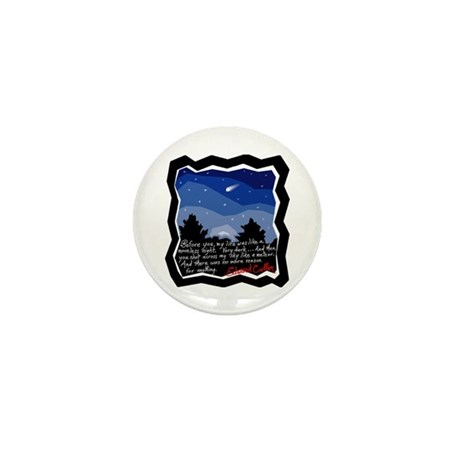 Twilight Meteor Mini Button