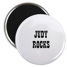 JUDY ROCKS Magnet