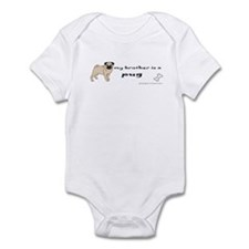 pug gifts Infant Bodysuit