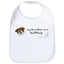 bulldog gifts Bib