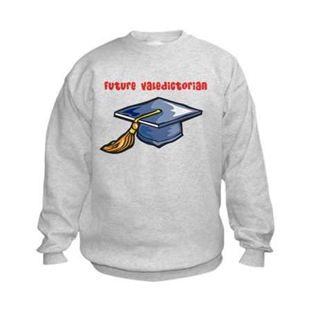 Future valedictorian Kids Sweatshirt