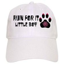Run For It Little Boy Baseball Cap