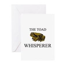 The Toad Whisperer Greeting Cards (Pk of 10)