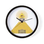 The Lodge and Eye Wall Clock