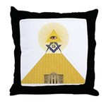 The Lodge and Eye Throw Pillow