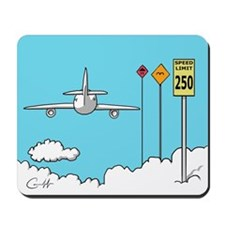 Fly Safe Mousepad