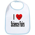 I Love Science Fairs Bib