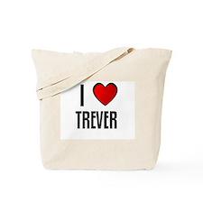 I LOVE TREVER Tote Bag